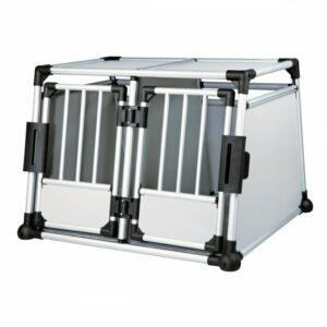 39587-trixie-doppel-transportbox-aluminium-m-l-39587-1-700x700