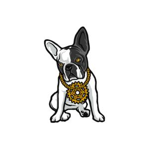 Bügelbild B-Dog