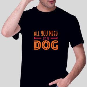 Herren T-Shirt - All you need is a Dog