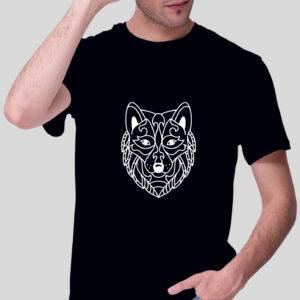 Herren T-Shirt - Wolf