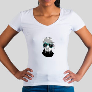 Damen T-Shirt - Cool Dog