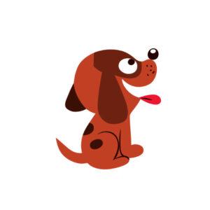 Bügelbild Hund